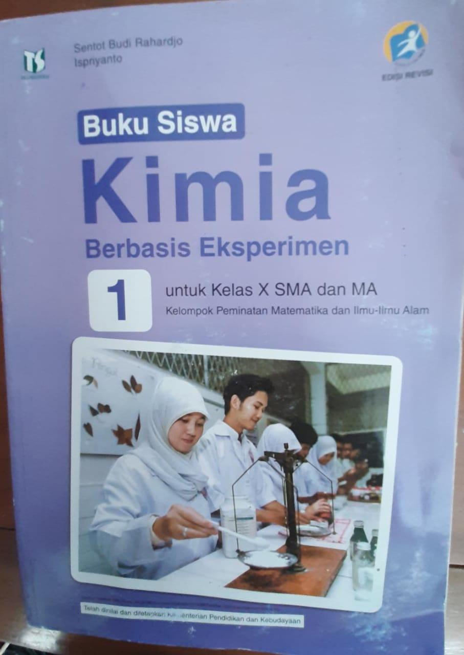 Kimia Berbasis Eksperimen 1 Untuk SMA Dan MA Kelas X