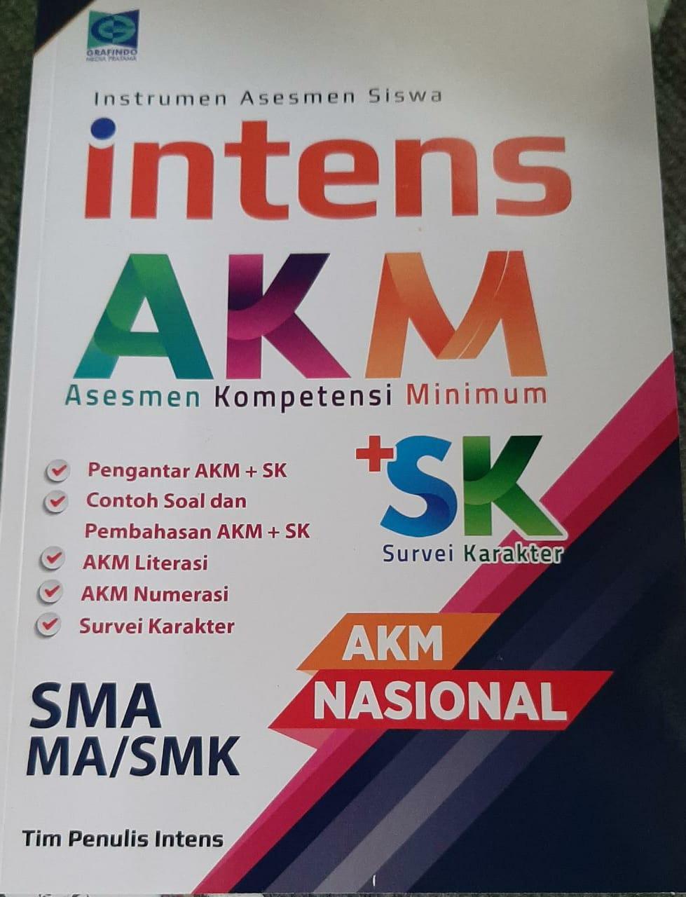 Instrumen Asesmen Siswa Intens AKM + SK Survei Karakter AKM Nasional